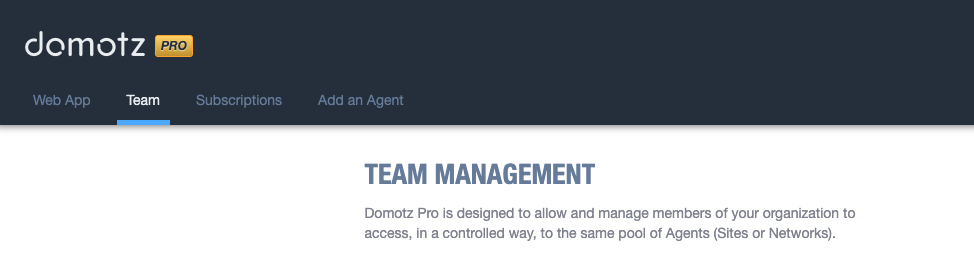 Team Management screenshot 1